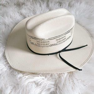 Resistol Western Youth Off White Hat
